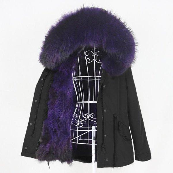 Черный фиолетовый
