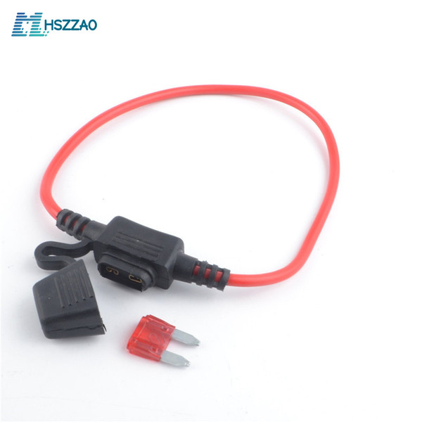 ZOOKOTO 5 Pack 12V Car Add-a-circuit 20A Fuse AP Adapter Mini ATM APM Blade 20A Fuse Holder