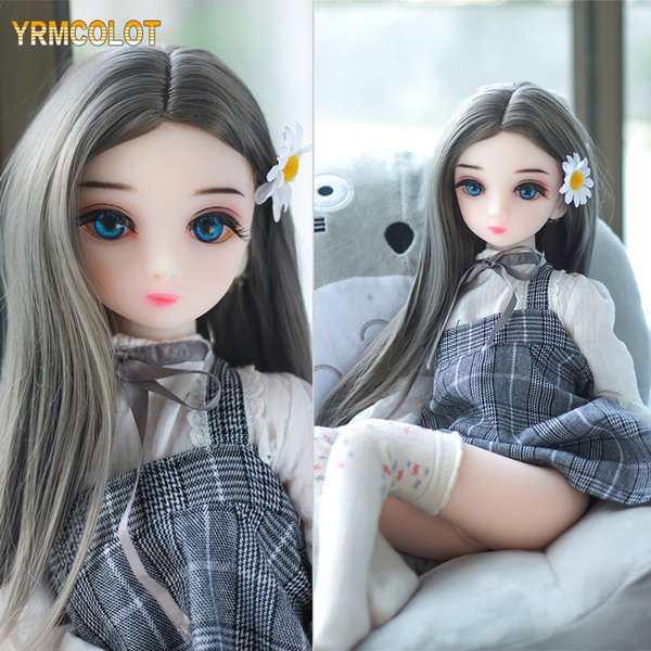 best selling YRMCOLOT Real Life Sex Dolls with Metal Skeleton, Lifelike Sex Doll, Life Size Silicone Sex Doll, Rubber Pussy