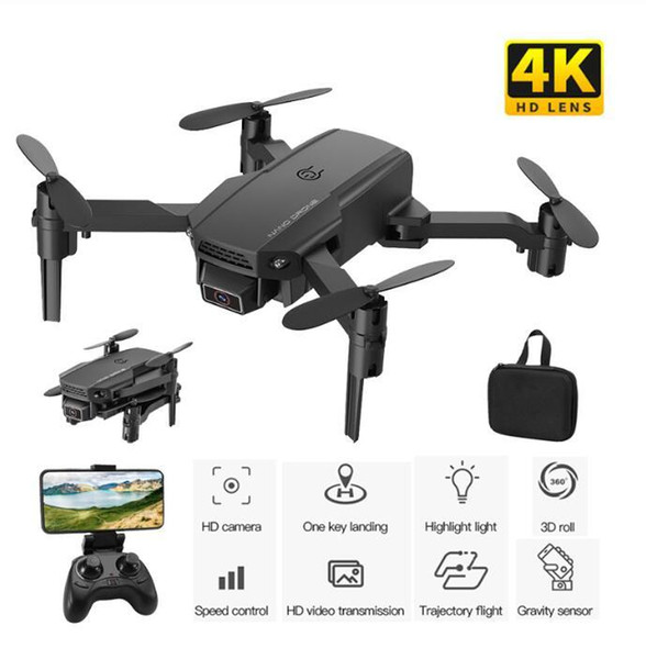 top popular KF611 Drone 4K HD Camera Professional Aerial Photography Helicopter 1080P HD Wide Angle Camera WiFi Image Transmission Children Gift 2021