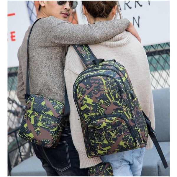 top popular 2021 20 HOT Hot Best outdoor bags camouflage travel backpack computer bag Oxford Brake chain middle school student bag many colors 2021