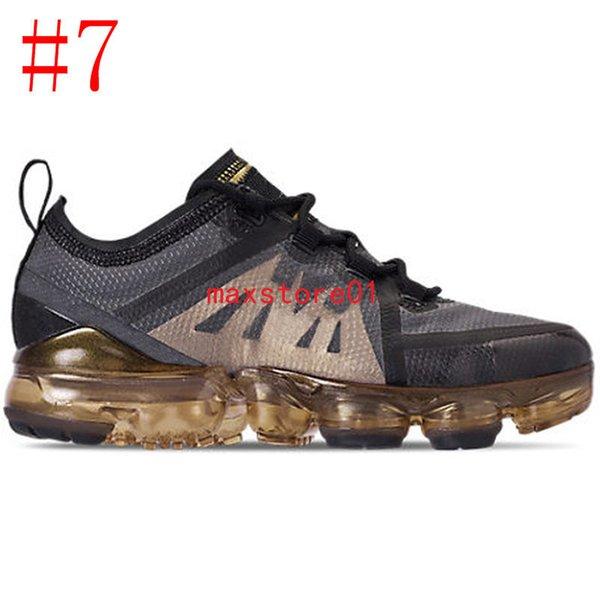 #7 Black Metallic Gold 36-45