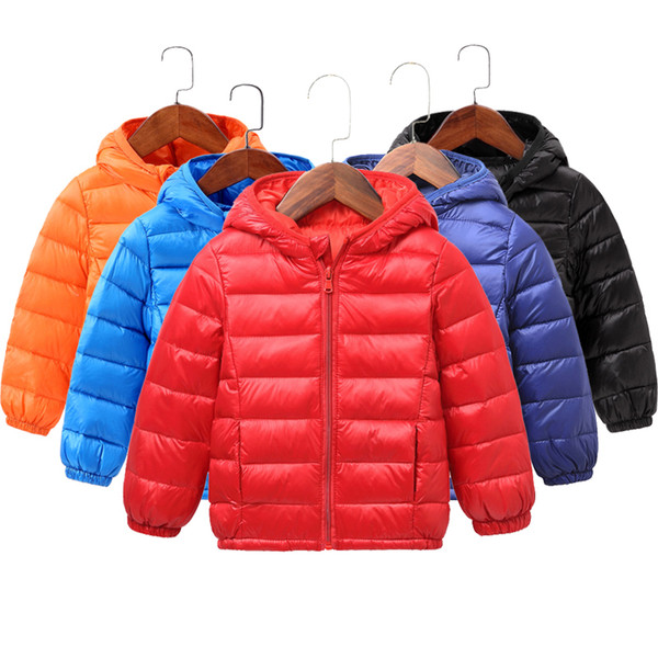 top popular Kids Winter Toddler Girl Clothes Boys Clothing Baby Girls Down Coat for Boy Jacket Snowsuit Parkas Hooded Children Warm Jackets 201102 2021