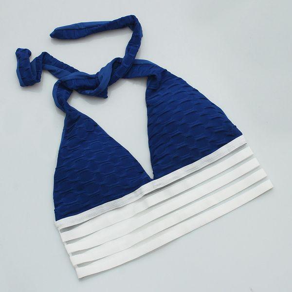 sujetador azul