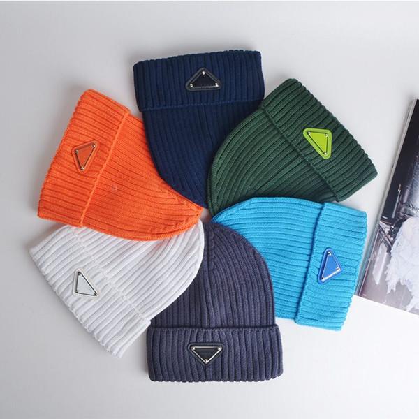best selling New Fashion Beanies Caps Hip Hop Beanie Winter Warm hat Knitted Wool Hats for Women Men gorro Bonnet Luxury Beanies Caps gorra de diseñador