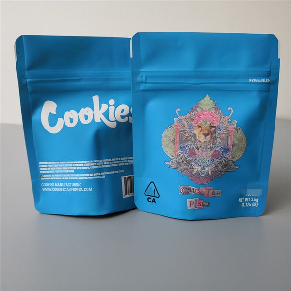 Bolsa de galletas de meadas de guepardo