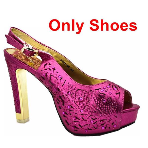 Fucsia solo scarpe