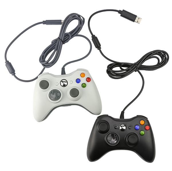 USB Wired Joypad Gamepad For Microsoft Xbox 360 Game Controller Joystick PC Support Windows7/8/10 DHL FEDEX EMS FREE SHIPPING