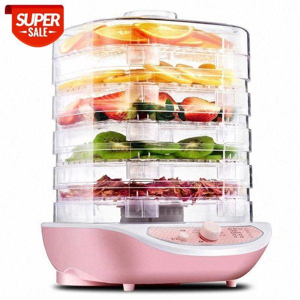 top popular Dried Fruit Vegetables Herb Meat Machine Household MINI Food Dehydrator Pet Meat Dehydrated 5 trays Snacks Air Dryer EU #Cm0c 2021