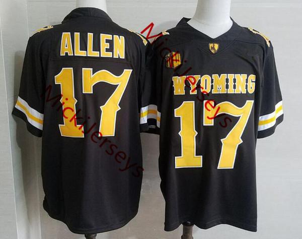 # 17 josh allen wyoming / com nome