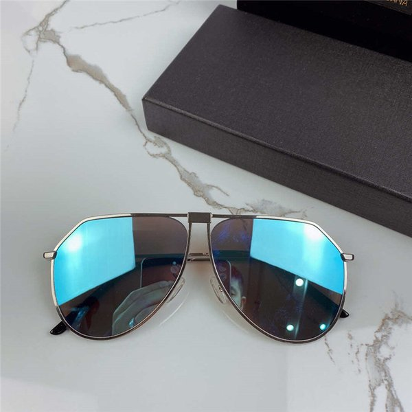 Lente specchio blu