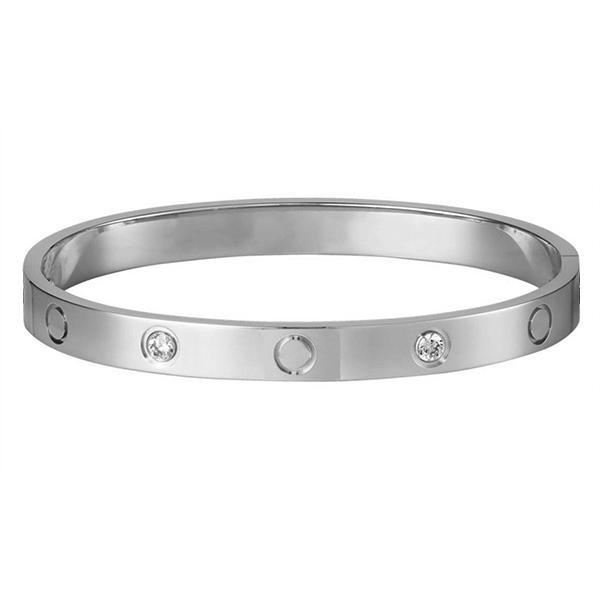 16 الماس مربع اللون الفضي NO
