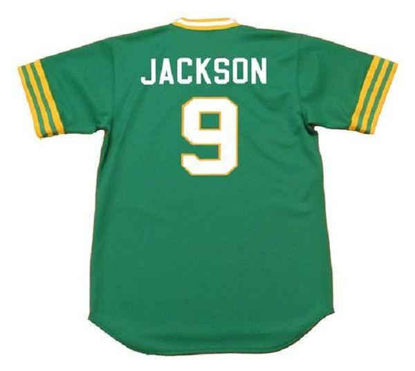 9 Reggie Jackson 1973 Verde