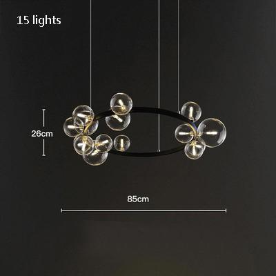 15 luces