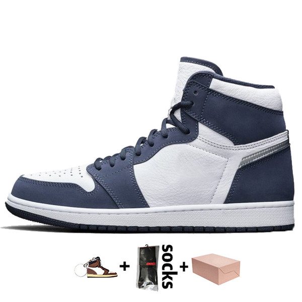 A25 High Og Midnight Navy 36-46