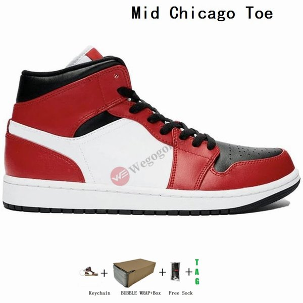 Mid Chicago Schwarz Toe