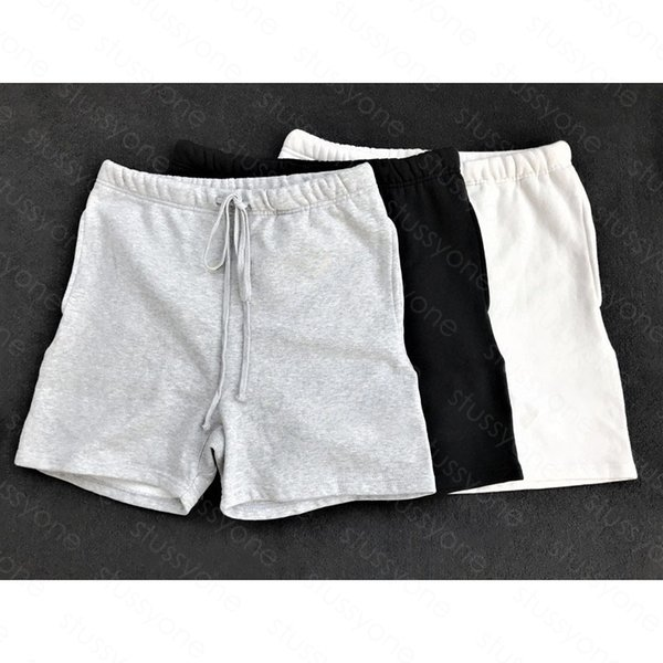 best selling 20SS Mens Stylist Shorts High Street Drawstring Pant Elastic Waist Outdoor Fitness Sport Short Pants Casual Breathable Shorts S58K