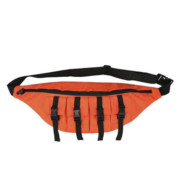 Orange Chest Bag