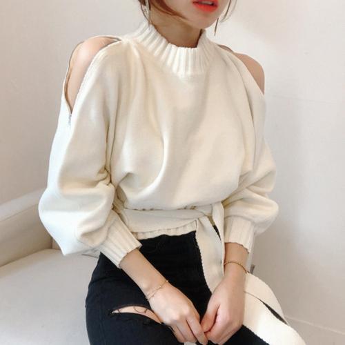pullover bianco