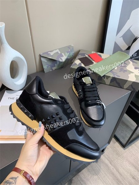 2021the new Man Speed Trainer Black Walking Sneakers Men Women Black Red Casual Shoes Fashion Paris Sneakers kM201215