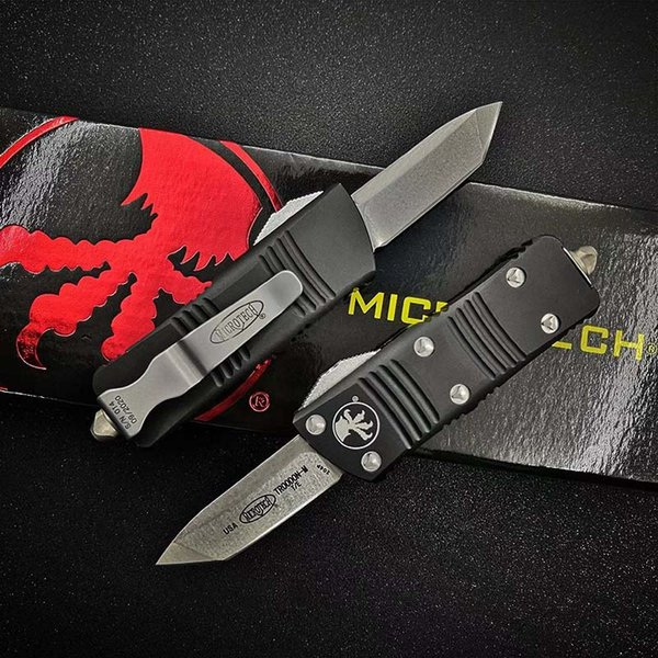 best selling New style Mini MICRO MT 121 Automatic Knife MT knife D2 Blade T6-6061 Aviation Aluminum handle BENCHMADE 3300 UTX85 UTX70 TECH KNIFE