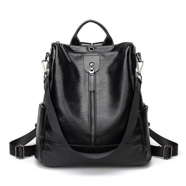 Simple Zipper Noir