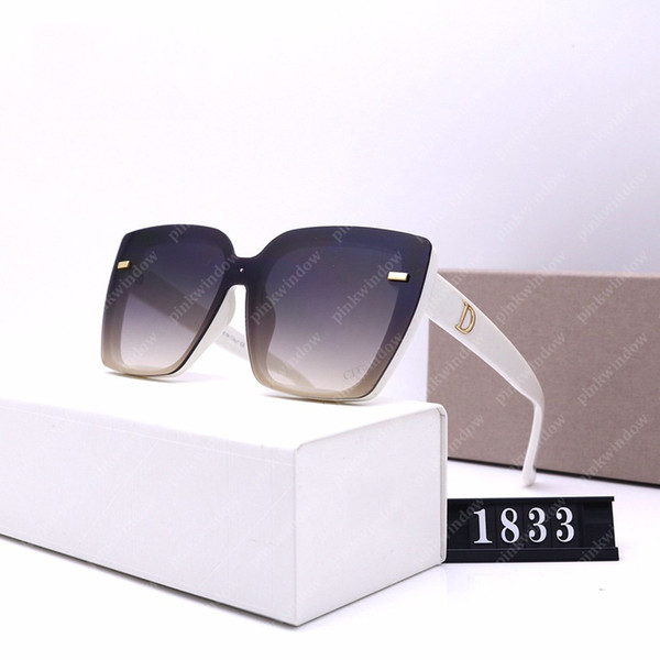 top popular Sunglasses Women Mens Designers Sunglasses with box Fashion Glasses Luxury Designers Glasses UV Proof High Quality Wholesale Price 20111301L 2021