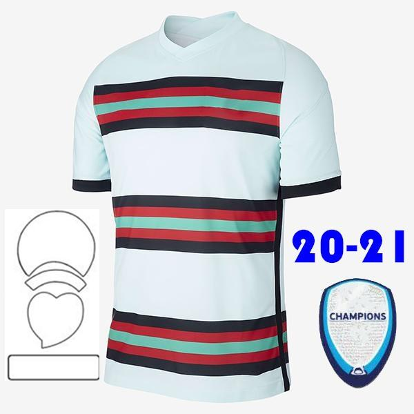 2020 Away + Patch - Uomini