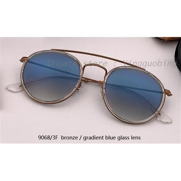 9068 / 3F Bronze / Gradiente Blue Lens