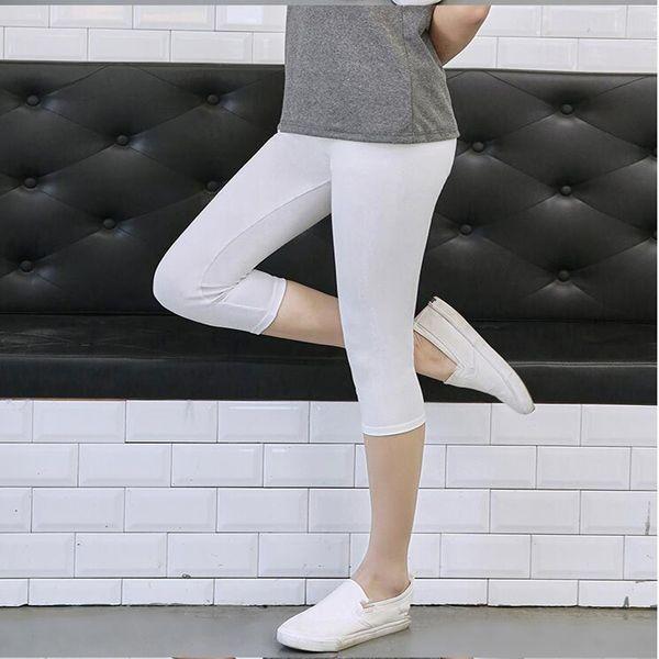 leggings brancos de creme