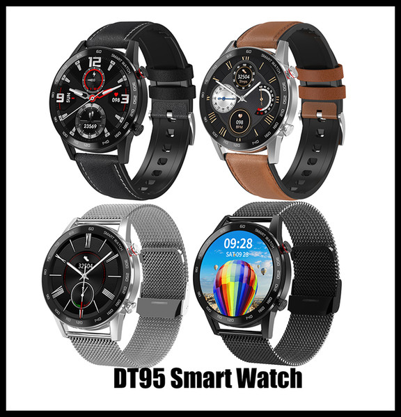 top popular Smart Watch DT95 Watch Smart Watches For apple watch Fitbit Smartwatch Android Phones with Package retail 2021