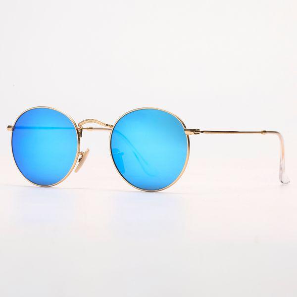 Miroir bleu / bleu clair