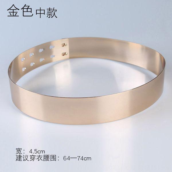 Anchura: 4,5 cm Oro Medio