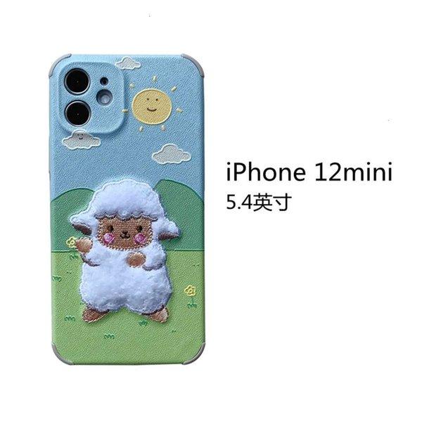 Iphone 12 Mini Embroidery Prairie Sheep