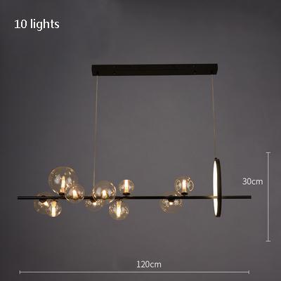 10 luces