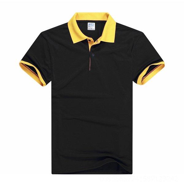 Collar negro y amarillo