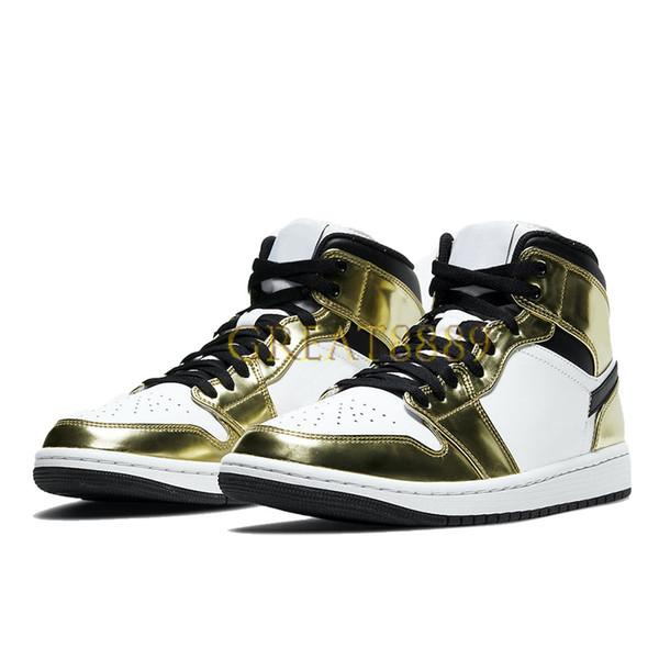 11.mid metallic gold black white