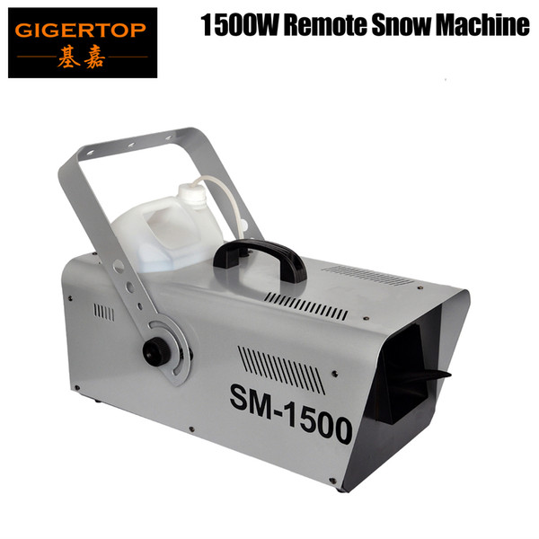 best selling Professional Cable Manual Control 1500W Snow Machine Jet Snow Cover 100m³ Effect Stage Equipment CE Certificate
