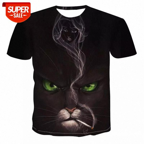 top popular Newest animal 3D Printed T-shirt Casual Short Sleeve O-Neck Fashion Printed 3D t shirt Men Women Tees High Quality tshirt #WW4H 2021