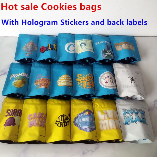 5 개 뜨거운 판매 쿠키 가방