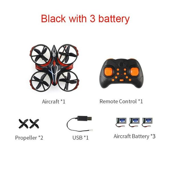 Schwarz mit 3 Batterie China