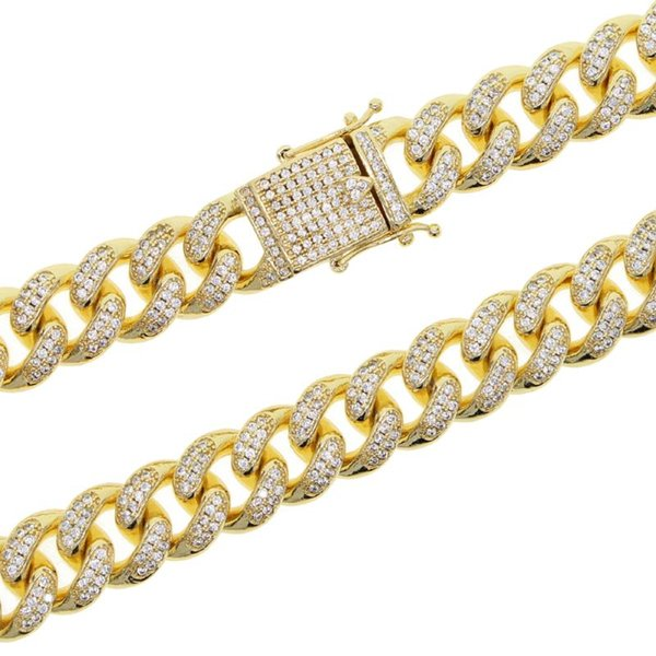 bracelete de 19 centímetros de ouro-color