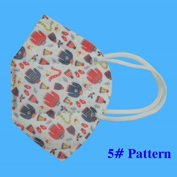 5 # Weihnachtsmaske