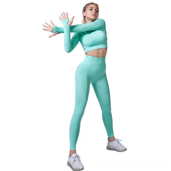 Фруктовые зеленые брюки с длинными рукавами