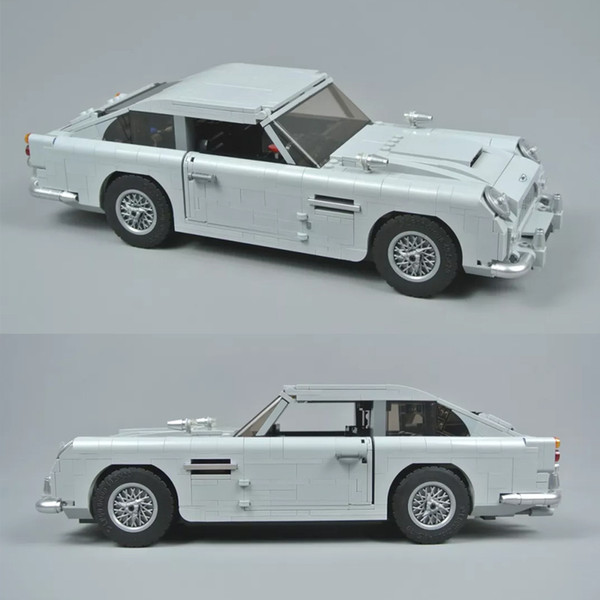 best selling 21046 Creator Series Martin Supercar Racing car DB5 Building Blocks Toys Compatible 10262 Christmas gift