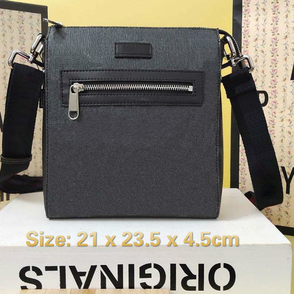 top popular Men messenger bag 21x23.5x4.5cm Leather Crossbody shoulder Card Holder Wallet Purses Clutches Handbag Cosmetic 2021