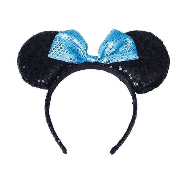 noir bleu Bow