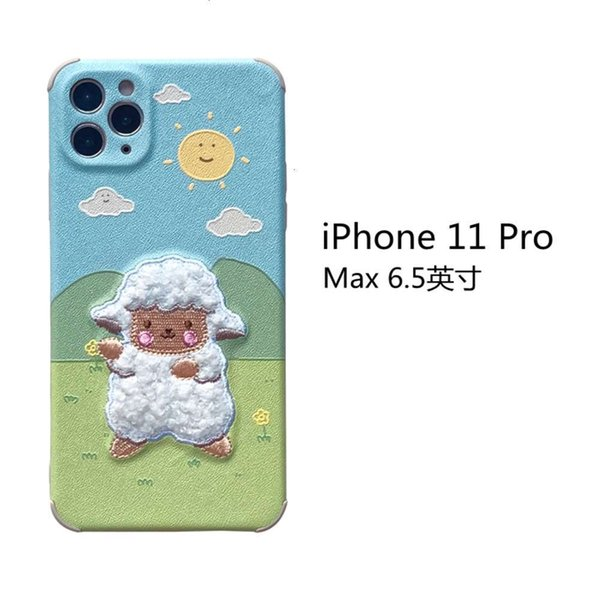Iphone 11 Pro Max Embroidery Prairie Sheep