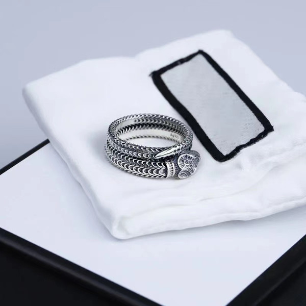 top popular Jewelry Lovers Ring Snake Ring Fashion Men and Women rings 2021