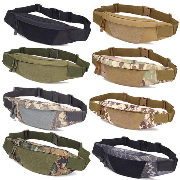 top popular Outdoor Sports Hiking Versipack Running Waistpack Tactical Camouflage Waist Bag Fanny Pack NO11-406 2021